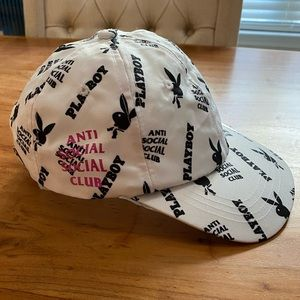 LIMITED EDITION AntiSocialSocialClub X Playboy hat